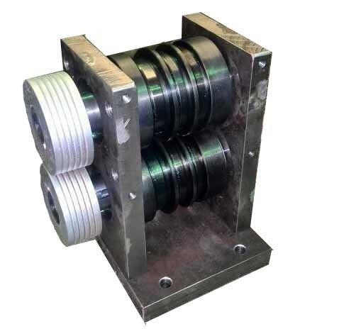 Блок усиления трубы электромеханический